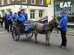 DBS - New Years Day procession 2015 in London
